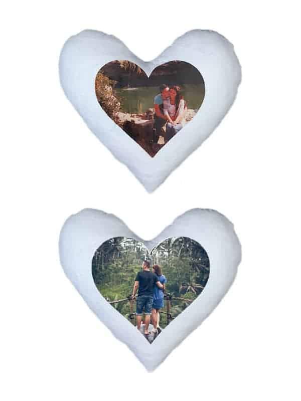 Personalizirani jastuk sa slikom i/ili tekstom – srce