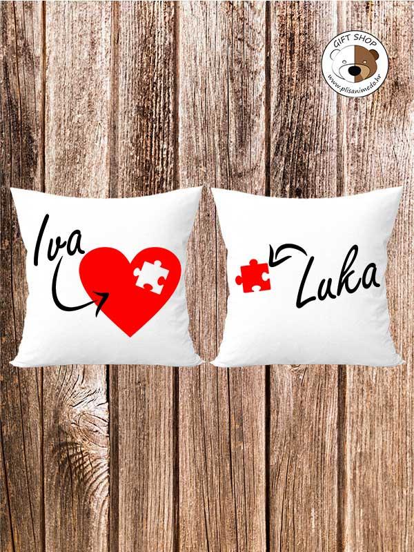 Personalizirani jastuk – KOMPLET 5