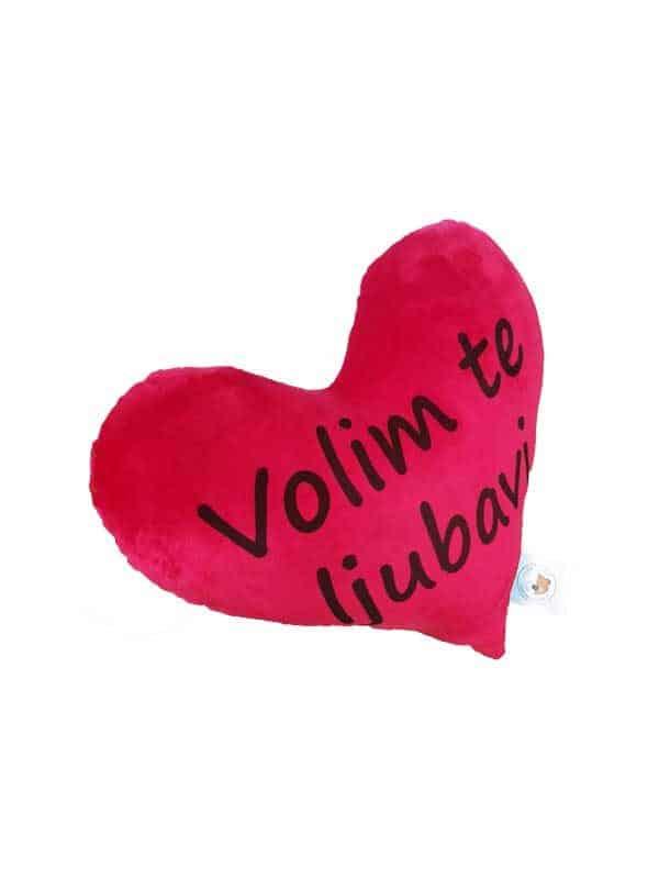 personalizirani-jastuk-40cm-s-tekstom-po-želji-u-crvenoj-boji-volim-te