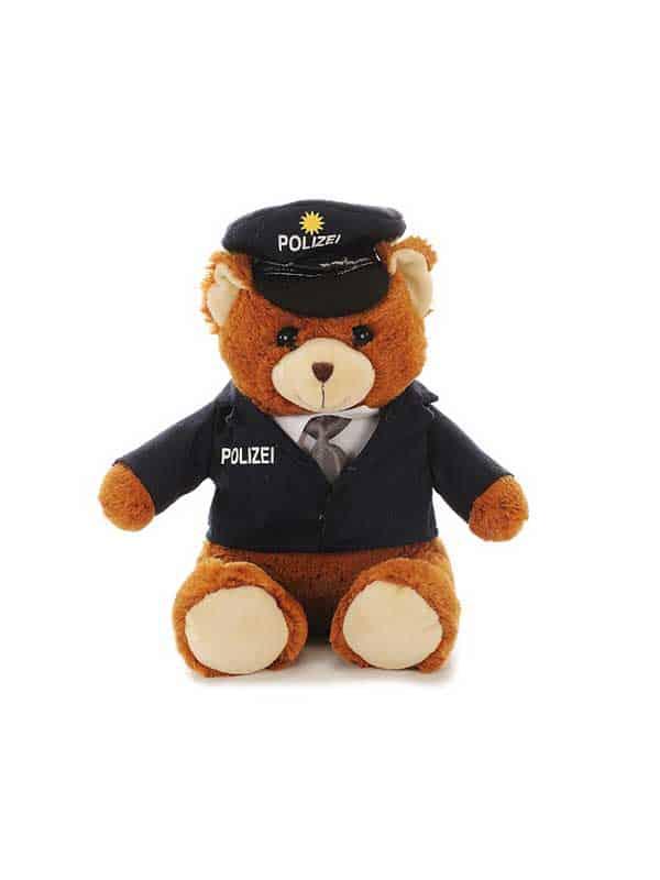 Plišani medo – policajac 27cm