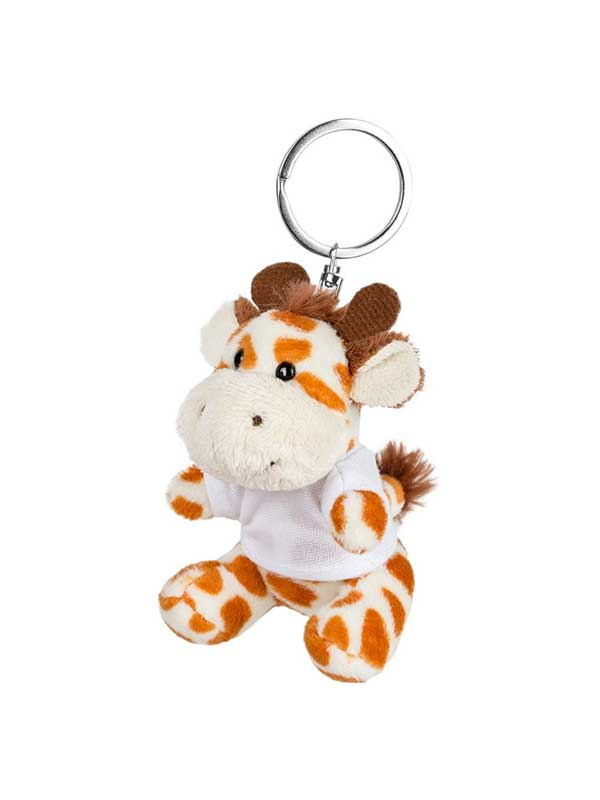 Žirafa – plišani privjesak 9 cm