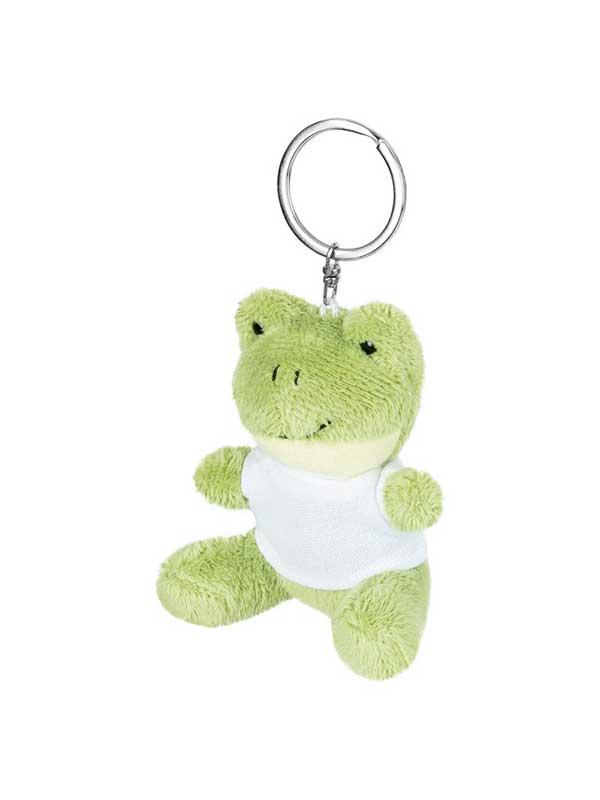 Žaba – plišani privjesak 8 cm