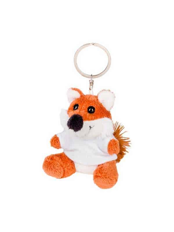Lisica – plišani privjesak 8 cm