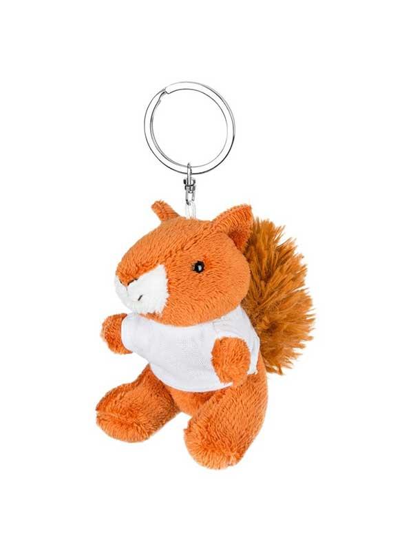 Vjeverica – plišani privjesak 8 cm