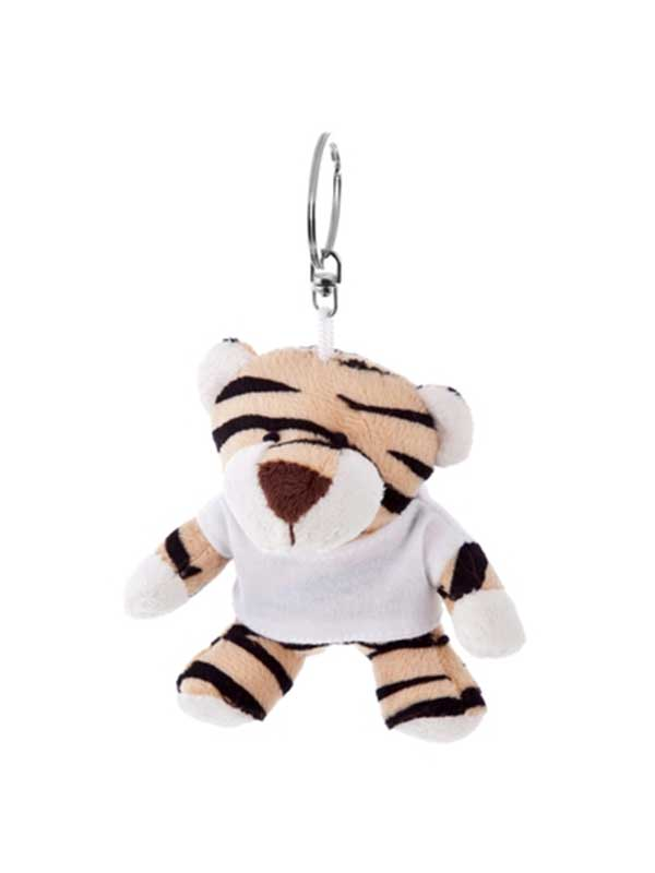 Tigar – plišani privjesak 10 cm