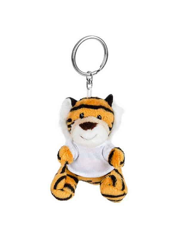 Tigar – plišani privjesak 8 cm