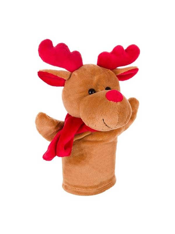 Rudolf – ručna lutka 23cm