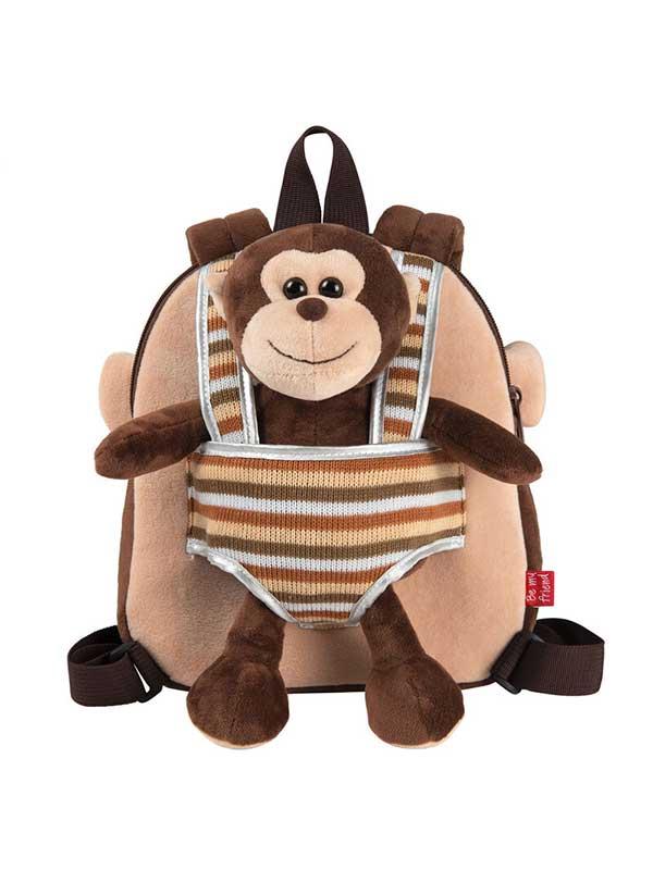 Ruksak + plišani Majmun Max 25cm