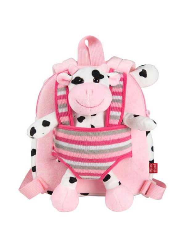 Ruksak + plišani krava Connie 25cm