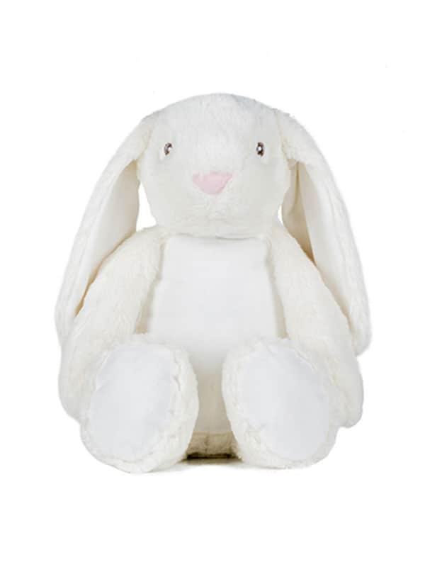 Plišani zec – bijeli 45cm