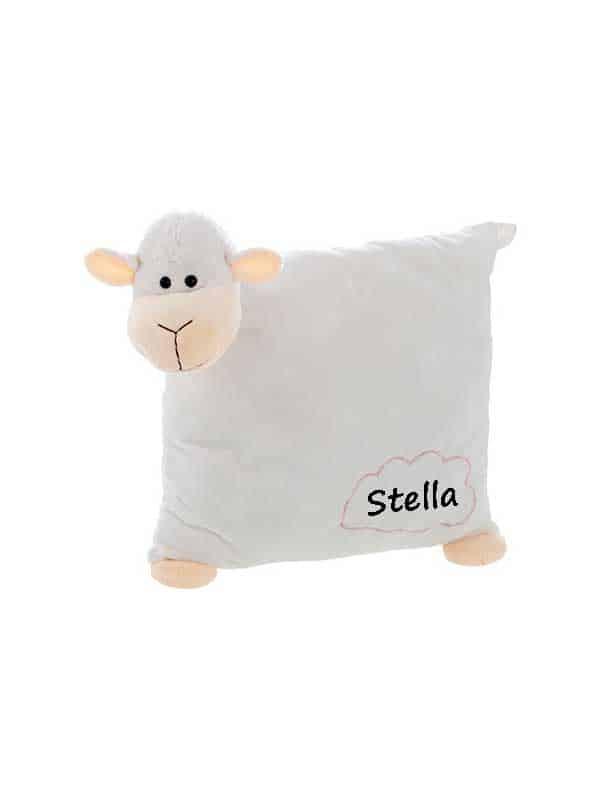 Jastuk – plišana ovčica 30cm – ime po želji