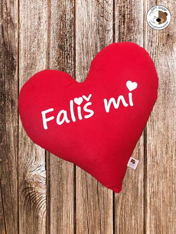 Jastuk crveno srce –  FALIŠ MI