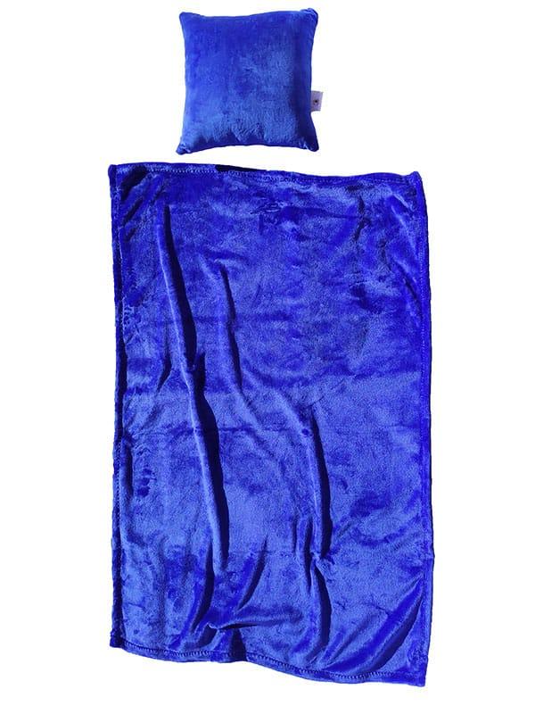 Flanel dekica – tamno plava
