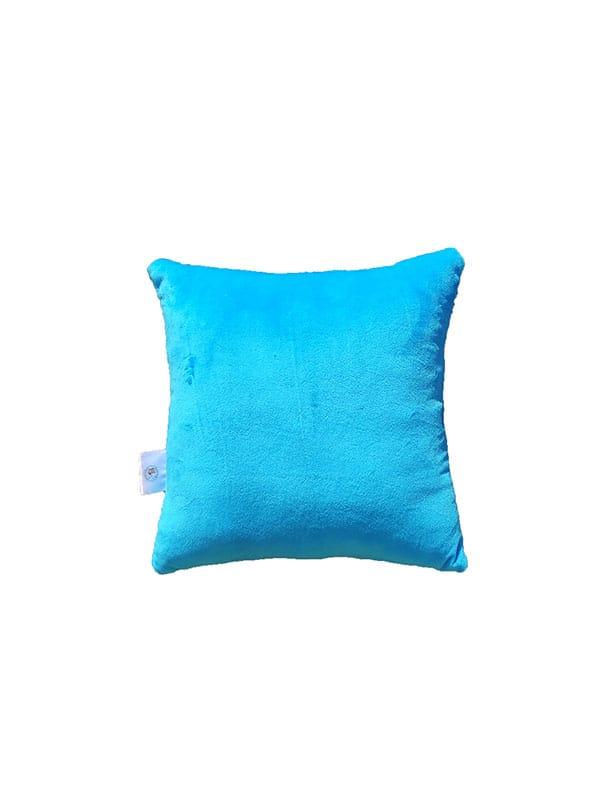 Plišani jastuk – svijetlo plavi