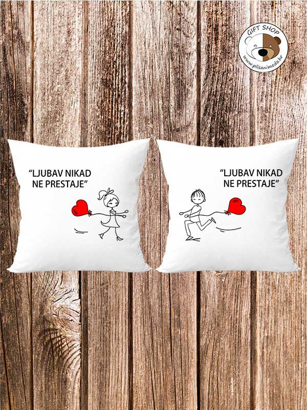 Personalizirani jastuk – KOMPLET 6